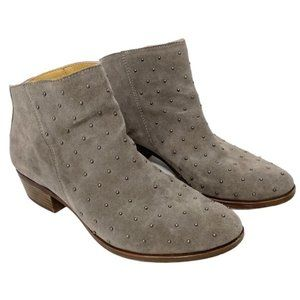Lucky Brand Breena 2 Suede Studded Ankle Booties